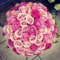 #audacefloralechantilly  Bouquet de roses