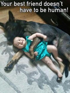 This is my human puppy! It was so great of you to have one just for me! #germanshepherd
