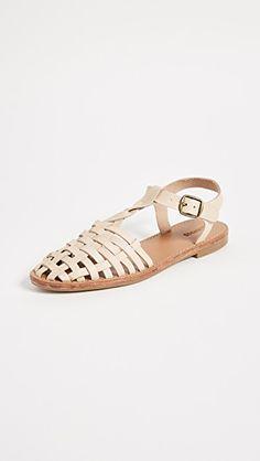 Woven Fisherman Sandals