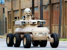 Military Robots, Defense Robots, Bomb Removal Robots- TheOldRobots.Org