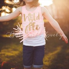 Wild and free fringe tank by bohoandlovely on Etsy
