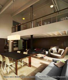 vide sur sejour mezzanine pinterest salons. Black Bedroom Furniture Sets. Home Design Ideas