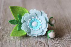 Felt Floral Headband Small Flower Crown Hair Clip Flower
