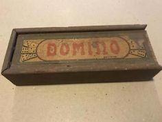 Domino doosje ouderwets antiek