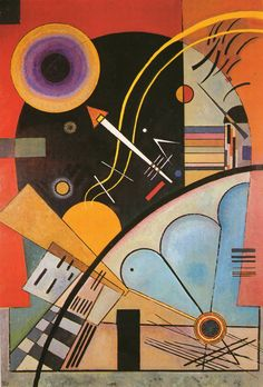 Still Tension 1924 By Wassily Kandinsky. Replica Paintings on Canvas - Reproduction Gallery Cubism Art, Art Painting, Abstract Artists, Famous Art Paintings, Painting, Wassily Kandinsky, Kandinsky Art, Art, Abstract