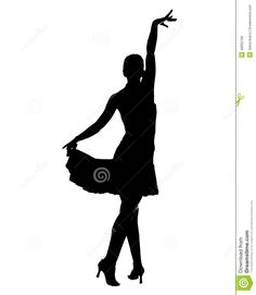 Latin Dancer Silhouette Stock Illustration - Image: 48955789