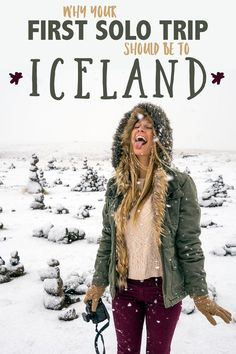 Iceland is one of the easiest places to travel for the solo female wanderer, and has been one of my favorite destinations since I visited last year! With a population of just 300,000 people, it seems like everyone knows each other. Reykjavik has a small-town vibe, it's practically crime-free (just take a look at the Reykjavik police Instagram account!) And there are amazing attractions like the Blue Lagoon, the Golden Circle, and winter activities!