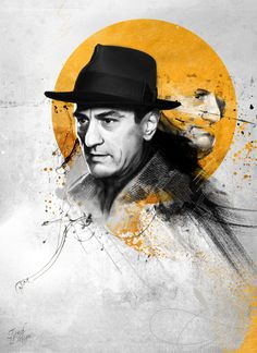 Robert De Niro by Touchdesign (via Creattica)