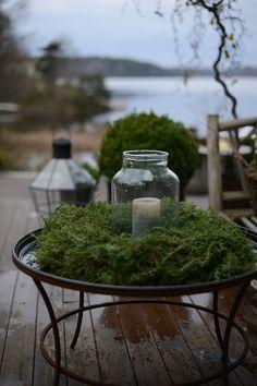 Nu har jag äntligen planterat upp några vintervackra kärl hemmavid. Varje år tänker jag att jag borde välja något annat, men har så svårt att motstå den vintersköna julrosen.  Vill ni ha dem inomhus ska ni välja dem som inte har några blad.