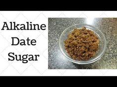 Date Sugar Dr.Sebi Alkaline Electric Recipe - YouTube