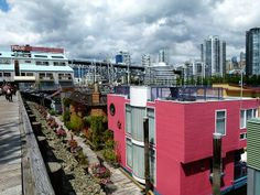 Granville Island, Vancouver - My Home - News - Bubblews Granville Island Vancouver, Canada Travel, British Columbia, Coast, Explore, Cool Stuff, Architecture, World, News