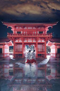 Yasaka Shrine Santuario Sintoista del año 656 D.C, visita obligada Kyoto Japón me enamora Kyoto #sakura #japon #kyoto #geisha #primavera #torii #yasakashrine #gion