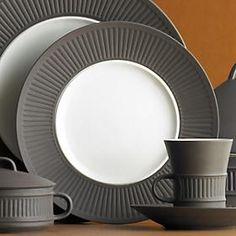 Dansk Flamestone Brown Dinnerware designed by Jens H. Quistgaard