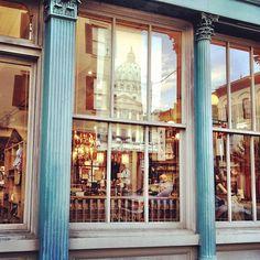 The dreamy windows at The Paris Market - so many treasures inside!