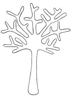 Мастерим с детьми — осеннее дерево с тыквенными семечками — HandMade