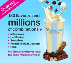 Worlds Largest Milkshake Bar Company | ShakeAway
