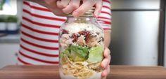 Ceaser salad inspired pasta salad.