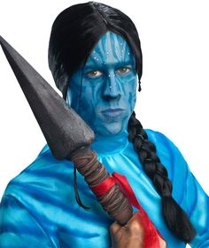 Buy costumes online like the Avatar Movie - Jake Sully Adult Men's Male Navi Costume Wig from Australia's leading costume shop. Avatar Costumes, Sailor Costumes, Buy Costumes, Costume Wigs, Costume Shop, Halloween Costumes For Kids, Adult Costumes, Droopy Eyes, Avatar Movie