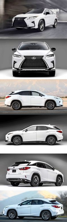 2016 Lexus RX350 F Sport....... possibly the only car in the world designed by a 6 year old star wars fan with an etch a sketch