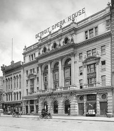 The Detroit Opera House circa 1904.