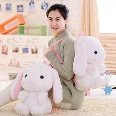 """Color:white. Size: Height:60cm/27.30"""". Fabric material:plush. Tips: *Please double check above size and consider your measurements before ordering, thank you ^_^"""