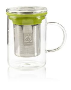 Remi Glass Tea Mug with Stainless Steel Infuser - I'm not an expert on infusers, but this one seems like it would do a good job.
