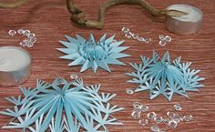How to make this pretty paper stars. www.deschdanja.ch