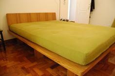 Futon, cama com cabeceira Biofuton