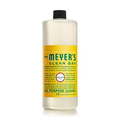 Use an all-purpose cleaner from Mrs. Meyer's with the clean scent of honey-suckle, lemon verbena, geranium, or sunflower to bring your garden inside; mrsmeyers.com - 99 Days of Summer - Coastal Living