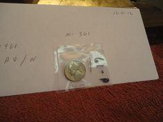 1961  //  AU   // Jefferson Nickel  //  M-361