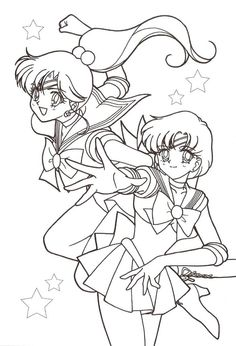 Jupiter Mercury Coloring Page
