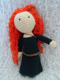 Ravelry: Brave Inspired Doll (Merida) pattern by Kristen McCrory
