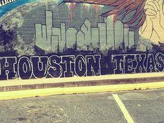 Houston street art. Love it.