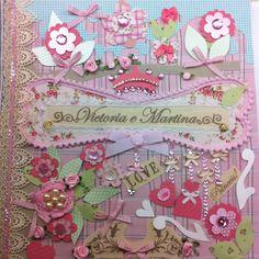 Detalhe - álbum de fotos! By Chria  www.chria.com.br