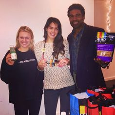Thanks to @kindsnacks for joining us for an Evening of Beauty at Chuice Headquarters! Your team rocks!! #KIND #bekind #beauty #health #fitness #fun #Chuice