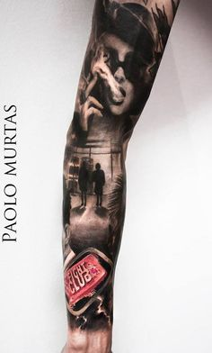 Cool Hyperrealistic Tattoos Of Popular Movie Characters & Abstract Scenes - DesignTAXI.com