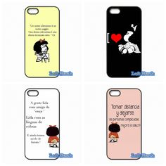 Funny Cartoon Mafalda Girl Hard Phone Case Cover For Apple iPod Touch 4 5 6 For iPhone 4 4S 5 5S 5C SE 6 6S Plus 4.7 5.5