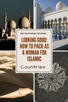 packing for islamic countries