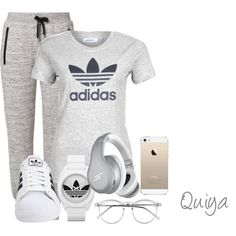 Adidas Outfit - Polyvore