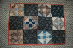 antique doll quilt | antique doll bed quilt | happy stitching