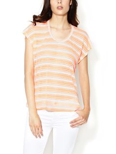 Boxy Stripe Dolman Tee by The Letter at Gilt $25