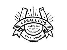 caballero logo / pinned on toby designs