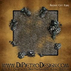 Dungeons By Dan - RPG Artwork for VTT and tabletop games Rpg Map, Dungeon Tiles, D 20, Fantasy Rpg, Tabletop Games, Me On A Map, How To Draw Hands, Maps, Backgrounds