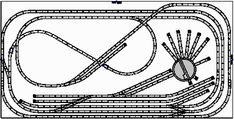 N Scale Model Trains, Model Train Layouts, Ho Scale Train Layout, Model Railway Track Plans, Train Table, Ho Trains, Electric Train, Models, Planer