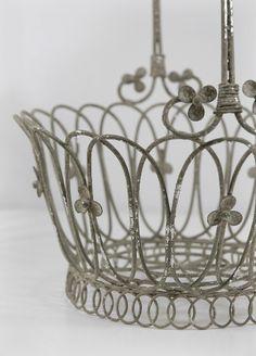wire basket..