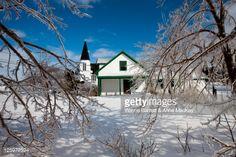 Foto de stock : Anne of Green Gables Post Office in Avonlea Village in winter, Cavendish, Prince Edward Island, Canada.