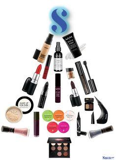 christmas wish list makeup, sephora, mufe, natura, vult, MAC, maybelline, zamphy, NYX