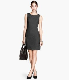 Sleeveless dress - from H Business Professional Dress, Professional Wardrobe, Professional Dresses, Latest Fashion For Women, Fashion Online, Dress Suits, Business Outfits, Office Fashion, Pretty Outfits