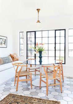 Large scale tile: http://www.stylemepretty.com/living/2016/11/03/interior-design-trends-that-arent-going-anywhere/ Photography: Tessa Neustadt - http://tessaneustadt.com/