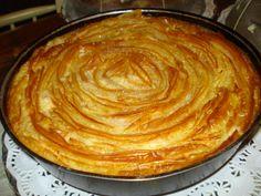 μπουγάτσα ..... @pezoula_paros Pie, Desserts, Food, Pinkie Pie, Tailgate Desserts, Deserts, Fruit Flan, Essen, Pies